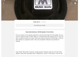 Music Man 412 GS Original