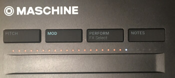 Native Instruments Maschine Mikro mk3 : touch-strip