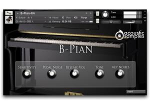 AcousticsampleS B-PIAN