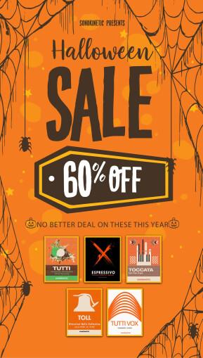 Sonokinetic Halloween Sale