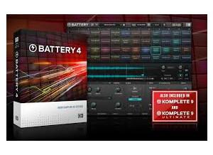 Native Instruments Battery 4 (6302)