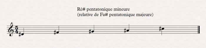 03 pentatonique mineure