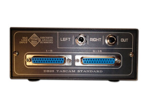 VintageMaker Passive Summing Mixer LittleOne 16x2 VARIABLE HEADROOM (35327)