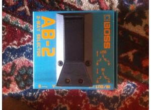 Boss AB-2 2-way Selector (10144)