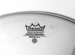 "Remo Emperor coated 16"""