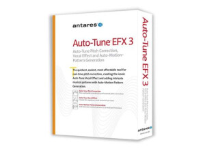 Antares Audio Technology Auto-Tune EFX 3