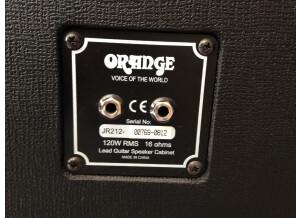Orange #4 Jim Root PPC212 Speaker Cabinet (24527)