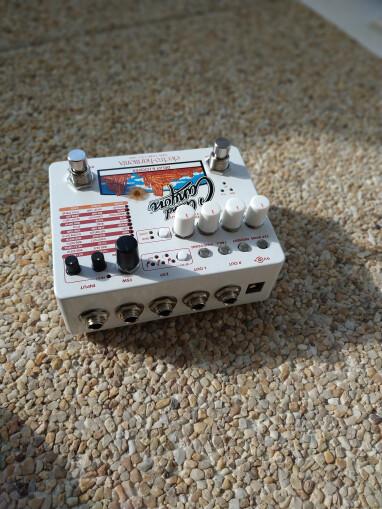 Electro-Harmonix Grand Canyon : Grand_Canyon_Connectique2