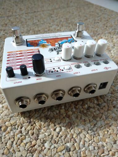 Electro-Harmonix Grand Canyon : Grand_Canyon_Connectique