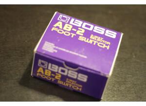 Boss AB-2 2-way Selector (21792)