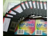 32 disquettes sample Drums + synthés analogiques AKAI S5000 S6000 Z4 et Z8