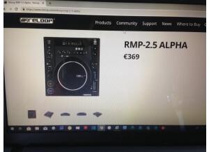 Reloop RMP-2.5 Alpha