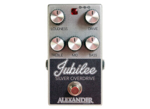 Alexander Pedals Jubilee Silver Overdrive (71690)
