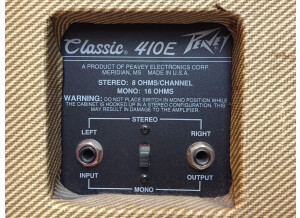 Peavey Classic 50 Head - Tweed (Discontinued)