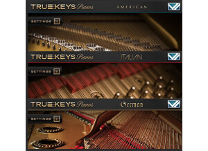 VI Labs True Keys : Pianos