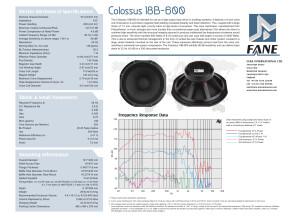 Fane colossus 18b600 (17169)