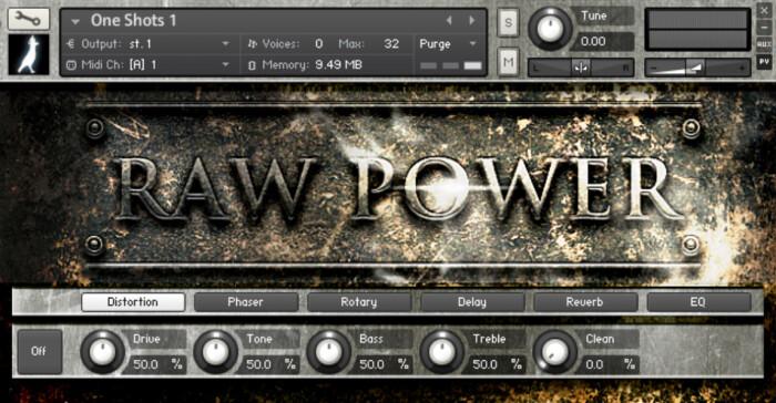 Raw Power GUI