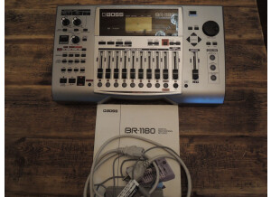 Boss BR-1180/1180CD Digital Recording Studio