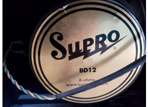 Supro 1695T Black Magick