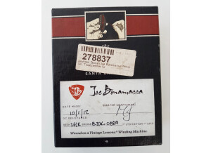 Seymour Duncan Custom Shop Joe Bonamassa Signature