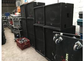 SONORISATION COMPLETE MUSICSON 8.000 watts