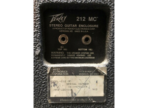 Peavey 212MC Cabinet