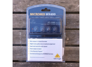 Behringer MICROMIX MX400 (96274)