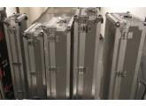 VENDS 3 FLIGHT CASE PROSTAGE GEAR - POUR TRANSPORT FRET AVION