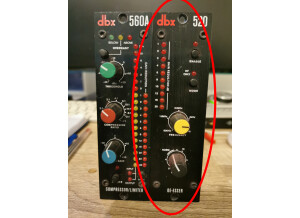 dbx 520 De-Esser