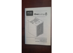 Acus one for strings 8