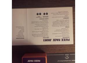 MXR JHM1 - Jimi Hendrix 70th Anniversary Tribute Fuzz Face
