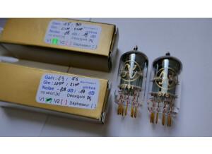 JJ / Tesla ECC83 S Gold Pins