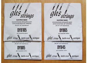 Ghs Bass Boomers 045-105