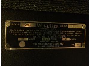 Wurlitzer 203W (93917)