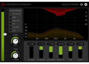 AVA Spectral Compressor GUI