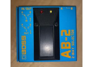 Boss AB-2 2-way Selector (12194)