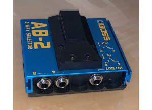 Boss AB-2 2-way Selector (68326)