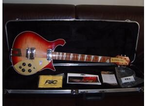Rickenbacker 660 fireglo