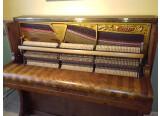 Vend Piano Droit GAVEAU E 125, frisé à chevron, finition ciré naturel