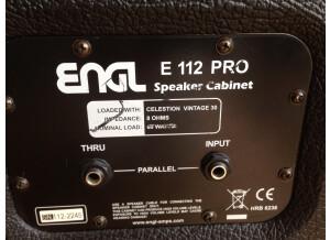 ENGL E112VB Pro Straight 1x12 Cabinet