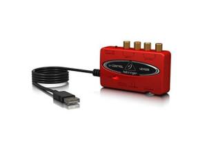 Behringer-UCA222-Interface-audio-USB-rouge