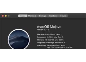 Apple MacBook Pro (15-inch, 2018) (85897)