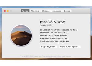 Apple Le MacBook Pro (Retina, 15 pouces, mi-2015) (88947)