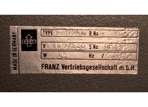 EMT 240 Gold Foil (44354)