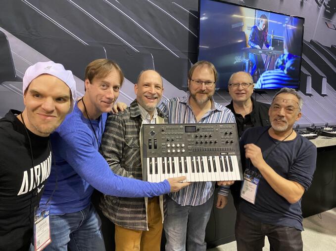 Wavestate Team Korg R&D