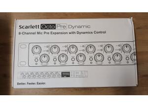 Focusrite Scarlett OctoPre Dynamic