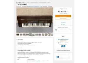 Yamaha DX5