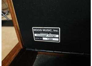 Moog Music Minimoog Voyager Performer Edition (129)