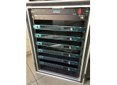 Yamaha AD8HR en flight case : stage box Ethersound 48 IN / 8 OUT