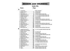 Alfred Music Publishing Advanced Techniques for the Modern Drummer: Coordinated Independence as Applied to Jazz and Be-Bop, Vol. 1 by Jim Chapin